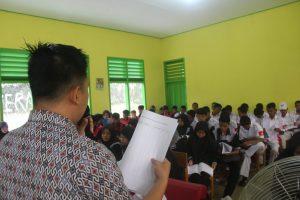 Pembekalan Peserta Praktek Kerja Lapangan (PKL) Tahun Ajaran 2019/2020 SMK Dharma Bhakti 4 Jambi