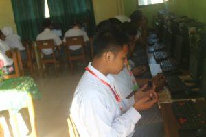 Hari Pertama UNBK 2020 SMK Dharma Bhakti 4 Jambi